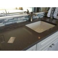 Wholesale White custom 48 inch quartz vanity with sink for hot sale from china suppliers