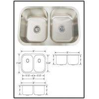 Buy cheap Modern kitchenlarge stainless steel sink from wholesalers
