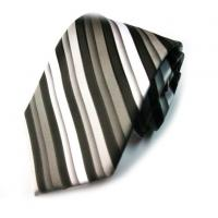 Wholesale Necktie Classical Design Poly Stripe Tie from china suppliers