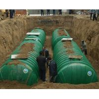 Pay attention to what installation of FRP septic tank
