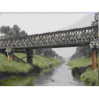 Wholesale Universal Surface Painted Long Span Bridge , Temporary Modular Bridge For Engineering from china suppliers
