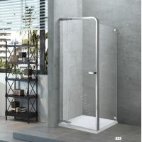 Wholesale Inward Opening Door , Internal Recess Or Outward Door Framed Pivot Shower Enclosure with Hings from china suppliers