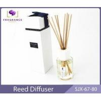 Buy cheap custom Rose Essential Oil Reed Diffuser 80ml home fragrance diffuser from wholesalers
