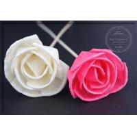 Wholesale Pretty Customized 8cm Dried Sola Flowers Indoor Artificial Flowers from china suppliers