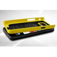 Best Butterfly Wings Stand Hard Case For Samsung Galaxy S2 i9100 - Yellow wholesale