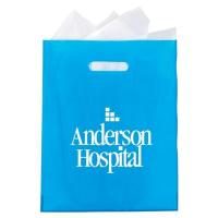 Best Frosted High Density Plastic Die-Cut Bag - Personalization Available wholesale