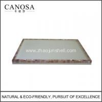 Wholesale Hotel Resin Amenity Tray with Pink Shell from china suppliers