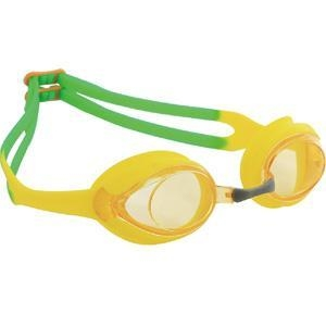 Quality Tinted Three Color Available PC Lens Junior Swimming Goggles for sale