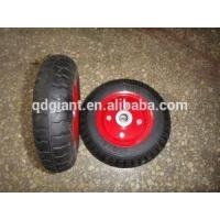 """Best 12"""" Rubber Solid Wheel With Bearing wholesale"""