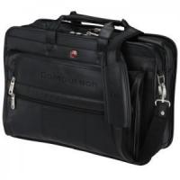 Leather Double Compartment Bag