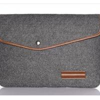Wholesale Laptop Ultrabook Notebook Wool Felt Sleeve Case Bag For 15.4 13.3 11.6 Apple MacBook Pro from china suppliers