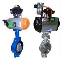 Wholesale Butterfly valve with Pneumatic actuators from china suppliers