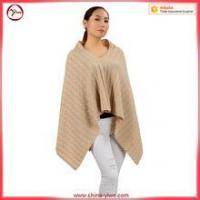 Wholesale OEM custom poncho cashmere women sweater from china suppliers