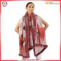 Wholesale Popular fancy cashmere outwear ladies poncho from china suppliers