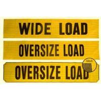 China Safety Signs And Stands Wide And Oversize Load Banners on sale