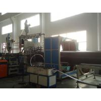 HDPE double wall steel pipe production line