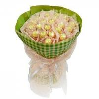 Wholesale Birthday bouquet of 21 pieces of ferrero rocher NO.3 delivery birthday from china suppliers