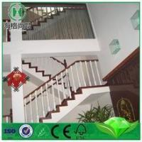 China wood staircase railing designs metal and wood staircase retro stair treads on sale