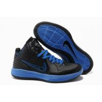 Wholesale 2013 Cheap Nike Lunarlon Hypergamer Shoes Black Blue from china suppliers