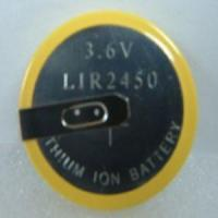 China LIR2450 Li-ion Button Cell Battery on sale
