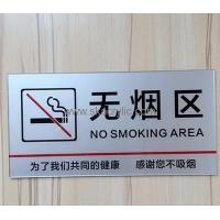 Best Factory hot selling acrylic no smoking sign board no smoking sign no smoking sticker BS-027 wholesale