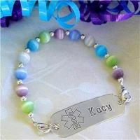 Wholesale Item# KC10 Petite Kitty Cats Medical ID Bracelet from china suppliers