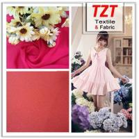 China chiffon fabric 75D chiffon georgette fabric in stock on sale
