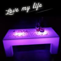 Wholesale Rechargeable Claasic LED Luminous Coffee Table from china suppliers