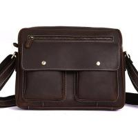 Wholesale Genuine leather men briefcase from china suppliers
