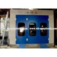 Oil heating luxury car paint booth