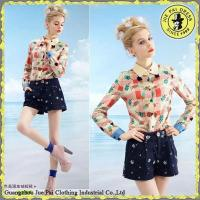 Buy cheap Naughty Girl Easy 3D Printed Colorful Candy Long Crop Tops from wholesalers