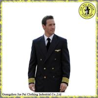 Quality Classic Tailor Made Airline Suits Uniform for men for sale