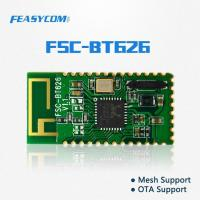 China Economical Bluetooth 4.2 Low Power IOT Module Support Bluetooth Mesh and OTA FSC-BT626 on sale