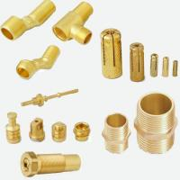 Wholesale CNC Brass Water Pipe Fittings for Sanitary System from china suppliers