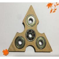 Eco Friendly Material Anti Stress Customized Logo DIY Wooden Hand Spinner With 608 Ceramic Bearing