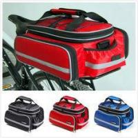 Wholesale Rear Rack Bike Trunk Bag Double Side , Hand Luggage BagsFor Short Trip Vehicle Carrying from china suppliers