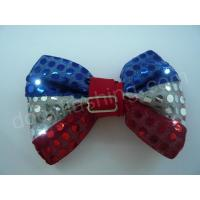 Wholesale LED flashing sequin bow tie-13002 from china suppliers