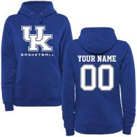 Buy cheap Women's Royal Kentucky Wildcats Personalized Basketball Pullover Hoodie from wholesalers