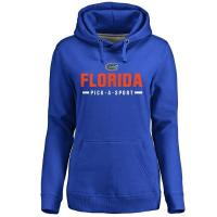Buy cheap Women's Royal Florida Gators Custom Sport Pullover Hoodie from wholesalers