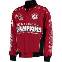 Buy cheap Men's Crimson Alabama Crimson Tide Commemorative Twill Jacket - from wholesalers