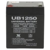 Wholesale 12V 5AH SLA Battery for POWERSONIC PS-1242 PS-1250 from china suppliers