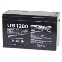 Wholesale Universal UB1280 UB1280 12V 8AH Sealed Lead Acid Battery F1 .187 TT from china suppliers