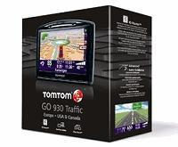 Wholesale TomTom GO 930T Portable GPS Navigator with Maps of US, Canada and Europe with Traffic from china suppliers