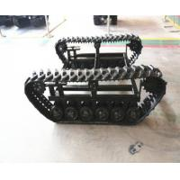 Wholesale High Quality Rubber Tracked Chassis for Small Machine from china suppliers