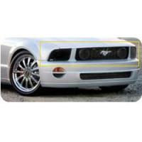 Buy cheap 05-09 Mustang Headlight Covers - SMOKED Lens (Pair) from wholesalers