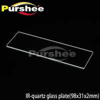 Wholesale IR-quartz glass plate(98x31x2mm) from china suppliers