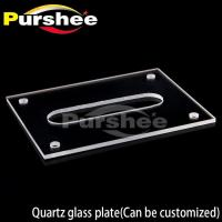 Quartz glass plate(Can be customized)