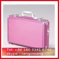 Wholesale Pink ABS Aluminum Briefcase With Compartment from china suppliers