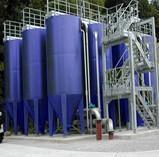 Active sand filters