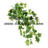 Wholesale Artificial Green Ivy Pothos Vice Hanging Bush Plants For Grass Wall from china suppliers